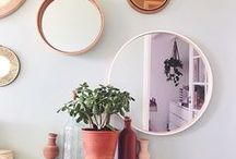 ROUND MIRROS / I love round mirrors