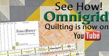 Omnigrid Videos: Learn How! / Wondering how to use Omnigrid rulers, rotary cutters and mats for cutting fabrics and other materials for quilting, sewing, crafts and DIY projects? Check out our videos and see how easy it is to make perfect cuts, every time!