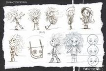 Character Design - Humans / Cute, scary or otherwise interesting human characters