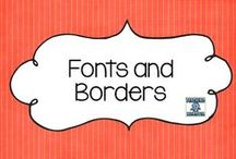 Fonts and Borders