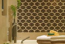 Inspiration: Tile / Tile is hot right now, and 2013 promises some exciting trends in pattern and textures. From traditional mosaics to edgy geometrics, a splash of tile adds instant interest to any space that will never go out of style.
