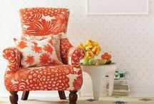 Inspiration: Modern Florals  / Floral is making a fierce comeback. Tell grandma's couch to move over; from frocks to furniture, bold and fresh floral prints are everywhere!