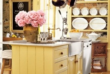 Country Yellow / Celebrating the color yellow as it applies to country style decorating. / by Town and Country Living