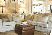 Country Neutrals / Neutral home decor photos primarily in the country decorating style. / by Town and Country Living