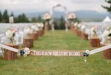 For richer...for richer ;) Ceremony Inspiration / Ceremony ideas
