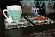 Potholders and Mug Rugs / Potholders, Trivets, Mug Rugs, Coasters, and Placemats!