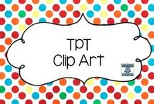 TPT Clip Art / Clip Art material from TPT for all purposes!