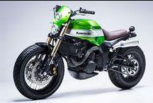 Kawasaki Café Racers & Brats / Kawasaki custom bikes