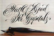 Fountain pen ,  Federhalter , calligraphy ,Kalligrapy / by Cecy Cuellar