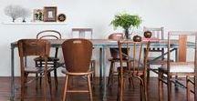 dining room / inspirations - idées - le beau est une promesse de bonheur