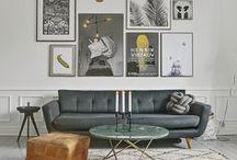 living room / inspirations - idées - le beau est une promesse de bonheur