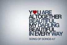 Take Heart, Beautiful Girl. / Encouragement, body image, beautiful, ladies only, beloved.