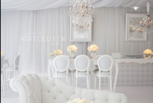ivory/white wedding / by Tope Olanrewaju
