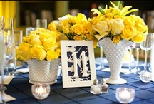 yellow/gold wedding