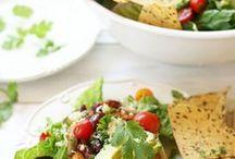 * Veggie dips / Fingerlicking veggie dips