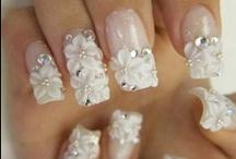 Mani/Pedi / nail designs / by Tope Olanrewaju