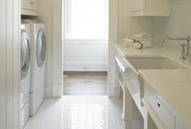Laundry Room / A busy GRACESHIP woman doesn't have time to do loads of dirty laundry. Some great ideas to make the laundry room a more efficient space!