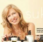 SUKI'S & SUKI STORY / once upon a time, Suki Kramer made it her personal mission to create products that produce real, visible results with 100% cruelty-free, natural, pure high potency actives to target sensitive, problem, combo, reactionary & unhealthy aging skin – strong & safe for everyone! a story like no other! :)