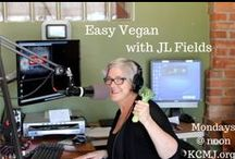 "Easy Vegan with JL Fields / Colorado Springs author and cooking coach JL Fields interviews local, national, and international activists, authors, chefs and plant-based leaders. Learn about local vegan and animal welfare events and simple lifestyle and cooking strategies that are good for your health, the environment, and the animals.    Why ""Easy Vegan""? Because it's not that complicated."