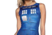 Doctor Who / New pieces coming to you 9am AEST 3 November 2015 at www.blackmilkclothing.com / by Black Milk Clothing