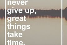 quotes & inspiration / by Brenna Bibb