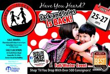 Jack and Jules--East Tennessee's Best Children's Consignment / Knoxville's BEST children's consignment event  / by Cindy Tucker