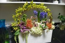 Everyday Arrangements / Flowers as Unique as you are.  Designs for a Lifetime...One Seed at a Time.   See more at www.appleblossomstampa.com