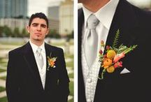 Boutonniers by Apple Blossoms / Boutonnieres by www.abweddingstampa.com www.appleblossomstampa.com