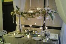 Wedding and Party Centerpieces by Apple Blossoms / www.abweddingstampa.com Tampa Wedding Flowers