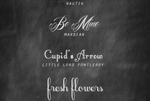 Fonts / by Shawna Marie
