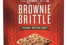 Brownie Brittle / Brownie Brittle...and Brownies...they're what we do best.  Here's a selection of our Brownie Brittle products available online at http://shop.browniebrittle.com and at varying retail locations across the country.  To find a store carrying Brownie Brittle in your area, check our store locator at http://browniebrittle.com/find-a-store / by Brownie Brittle by Sheila G