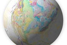Around the World / Maps in the world.