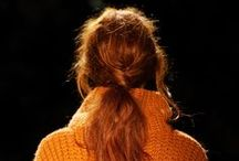 Tracy Reese Fall 2012 / #Tresemme #hair #hairstyling #products #beauty #TracyReese #FallFashion #fashion #fashionweek