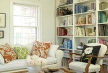 Built in bookcase ideas / by Shannon Baker