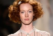 Jenny Packham Spring 2014 / A 70s take on Edwardian attire calls for TRESemmé to create dramatic, neoclassic volume! / by TRESemmé