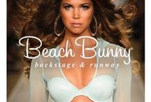 Beach Bunny Swim 2015 / Tresemmé Stylist, Tyler Laswell, created big, bombshell hair to complement Beach Bunny Swiwear's interpretation of a futuristic, sexy woman.