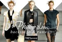 3.1 Phillip Lim Spring 2015 / TRESemmé created Fly-Away Knots to complement Phillip Lim's bold, textural spring/summer 2015 line.