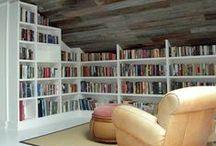 Dream Libraries / Rooms to lose yourself in and discover whole worlds are waiting for you.