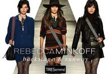Rebecca Minkoff Fall 2015 / Orlando Pita for TRESemmé created rock n' roll locks to complement Rebecca Minkoff's fringe-filled, 1970's inspired line.