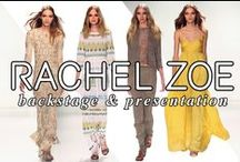 Rachel Zoe Spring 2016 / TRES lead stylist, Jeanie Syfu, created effortless, loose waves to complement Rachel Zoe's Spring 2016 Collection inspired by the jet-setting ways of the carefree, easy-going Gypset.
