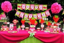 Strawberry Birthday Party / Krown Kreations & Celebrations New STRAWBERRY party!!!