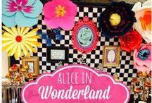 Wonderland Party Ideas