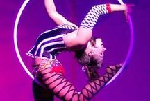 ☆ Circus Inspiration / Step right up and enter our big top full of circus themed ideas to inspire and amaze. These dazzling showgirls and sinister clowns are here for your amusement, so please, enjoy the show.