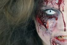 Zombies / Sink your teeth into these gruesome zombie looks. Whether you want to be the death and soul of every party, or a dead ringer for a gory zombie, our dead-icated collection of costume and makeup ideas will of corpse get you there.
