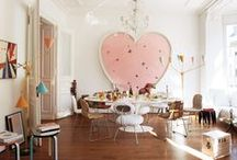 Eclectic Living / Modern eclectic lived-in homes