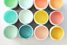 COLOR PALETTES / Colors that inspire me.