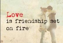 Love <3 / Love makes my world go round. <3
