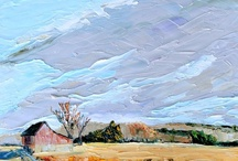 eastern shore paintings / We live on the Eastern Shore of Virginia. I love the land and the people here, and love to paint here, too.  / by carrie jacobson