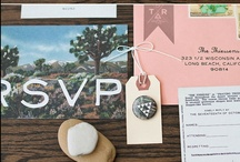 Wedding Paper <3 / {Ideas & inspirations for lovely wedding paper.}