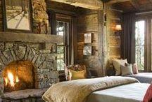 Bedroom / Colors, styles & ideas / by Susan Skitt
